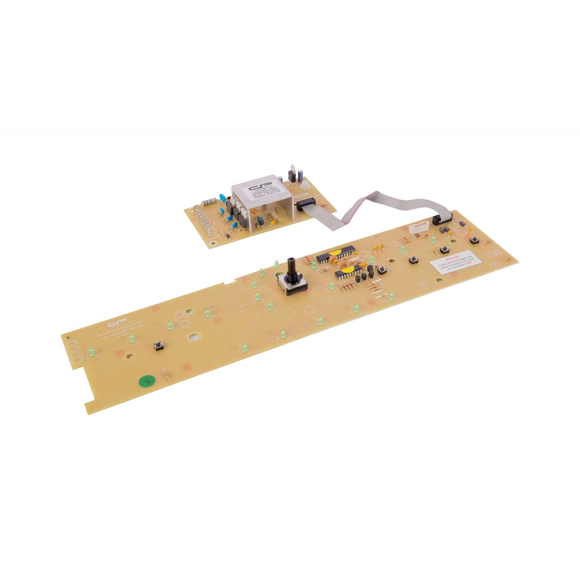 Placa Lavadora BWL11A Potência + Interface Bivolt Versão 1 (CP1042)