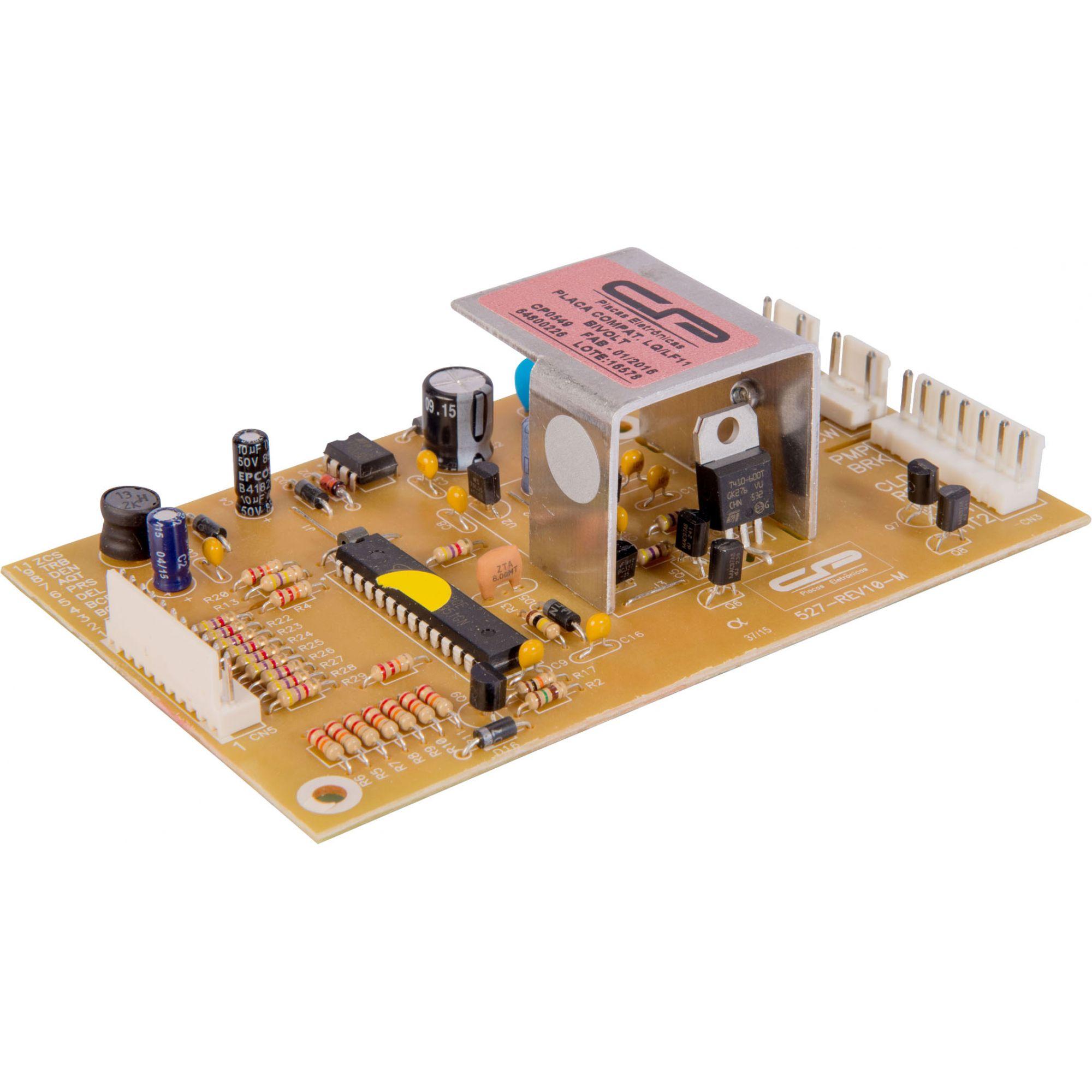 Placa Eletrônica CP549 Bivolt Lavadora - Electrolux