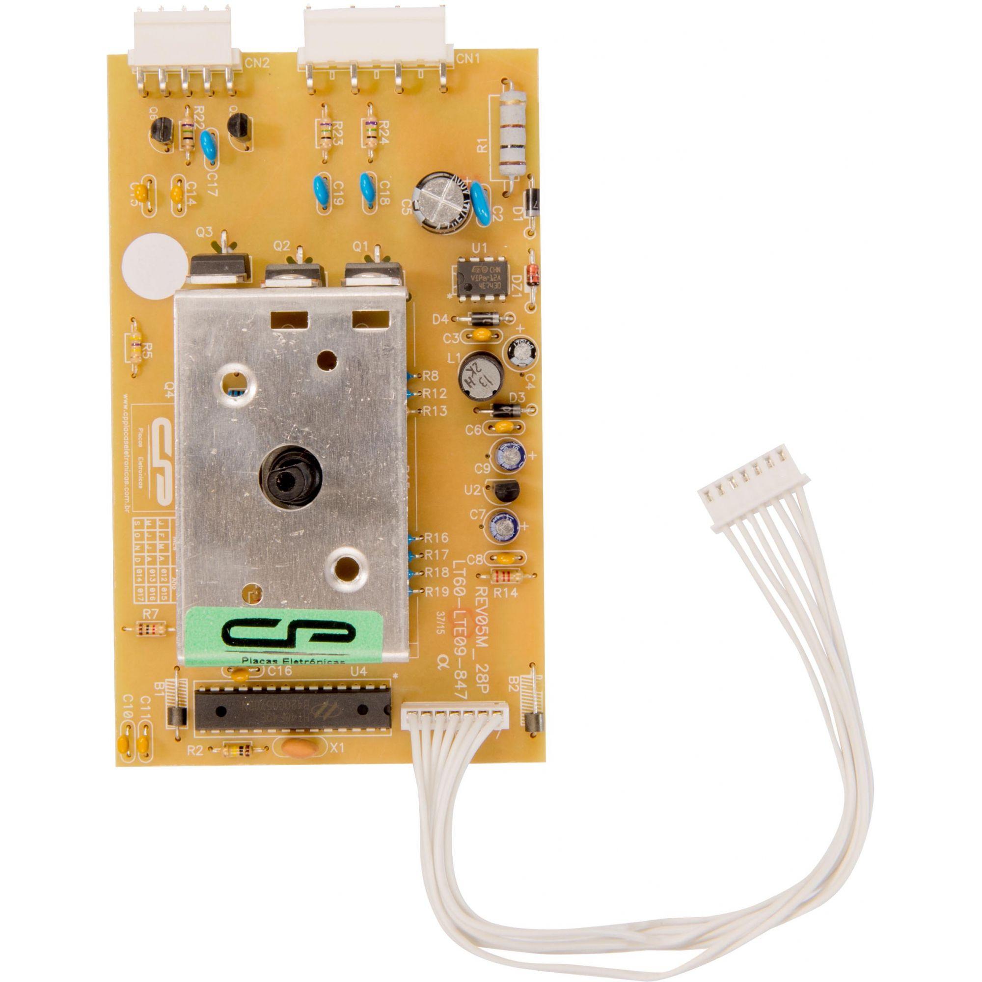 Placa Eletrônica Lavadora Electrolux Lt60 Bivolt Cp