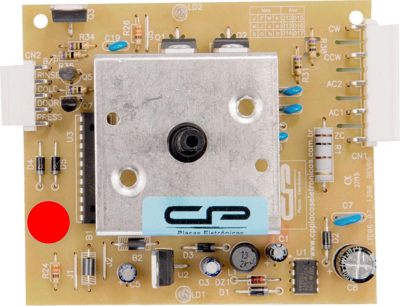 Placa Eletrônica Lavadora Electrolux Lte06 Bivolt Cp (CP1239)
