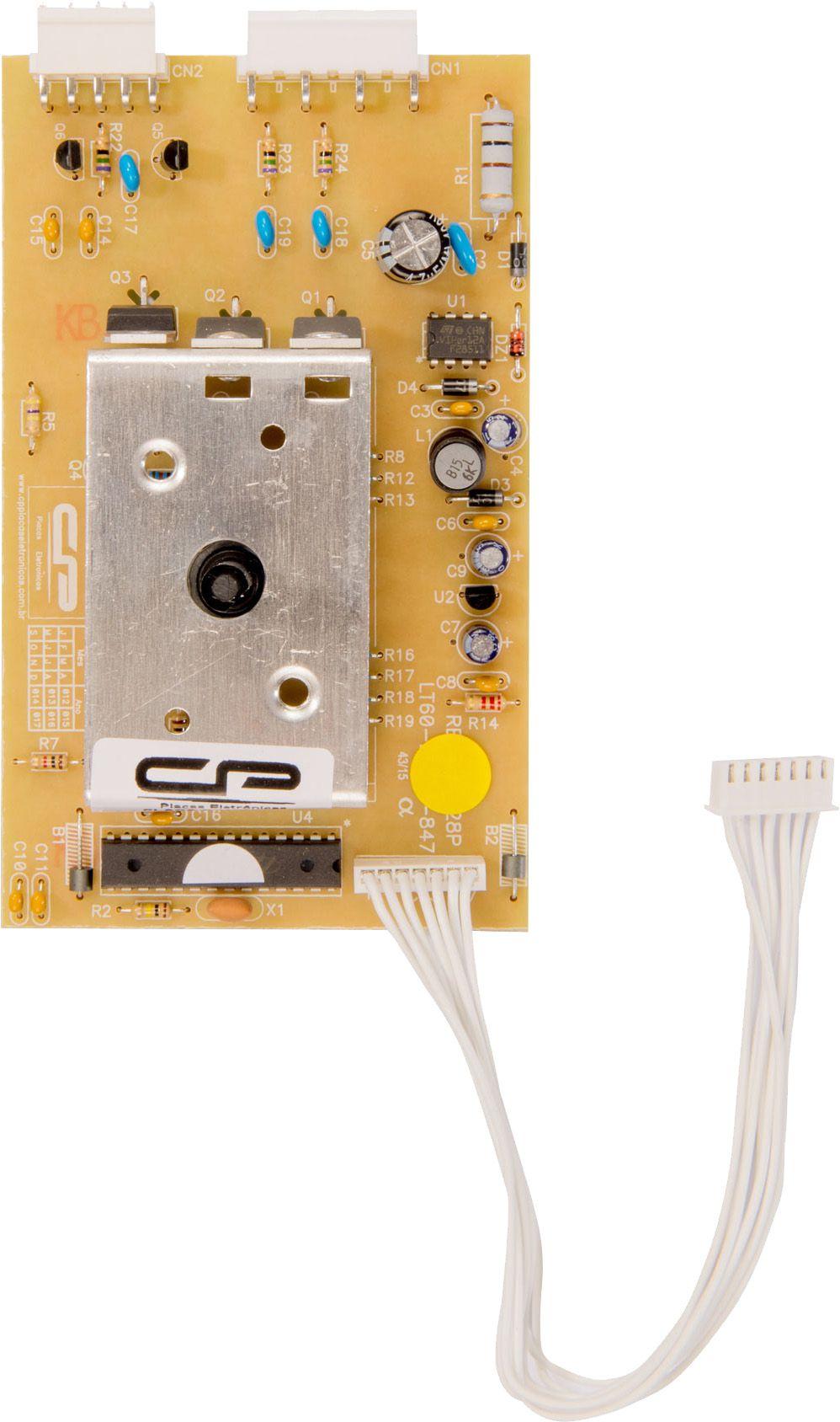 Placa Lavadora LTE09 Bivolt (CP941)