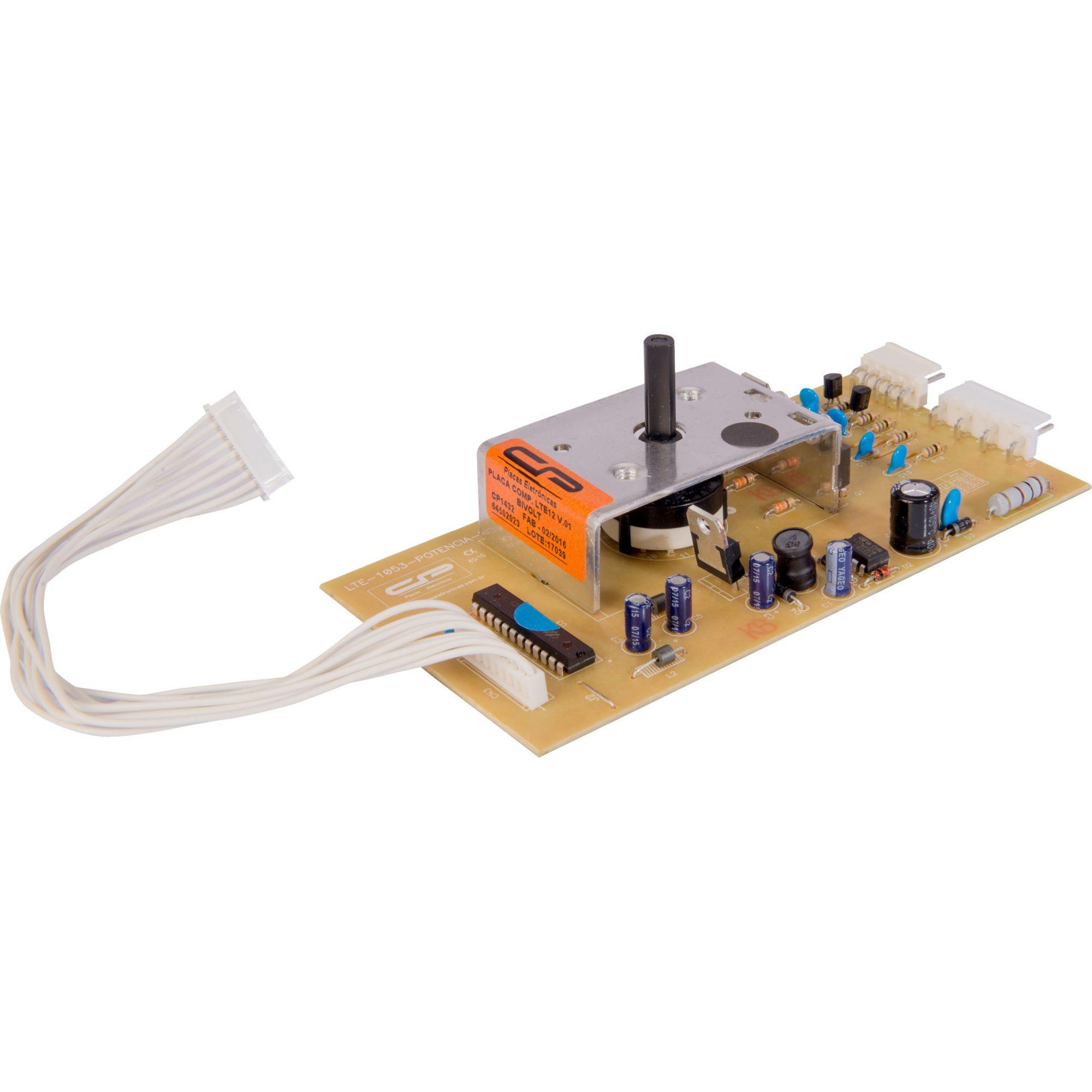 Placa Lavadora LTE12 Versão1 2008/2012 (CP1432)