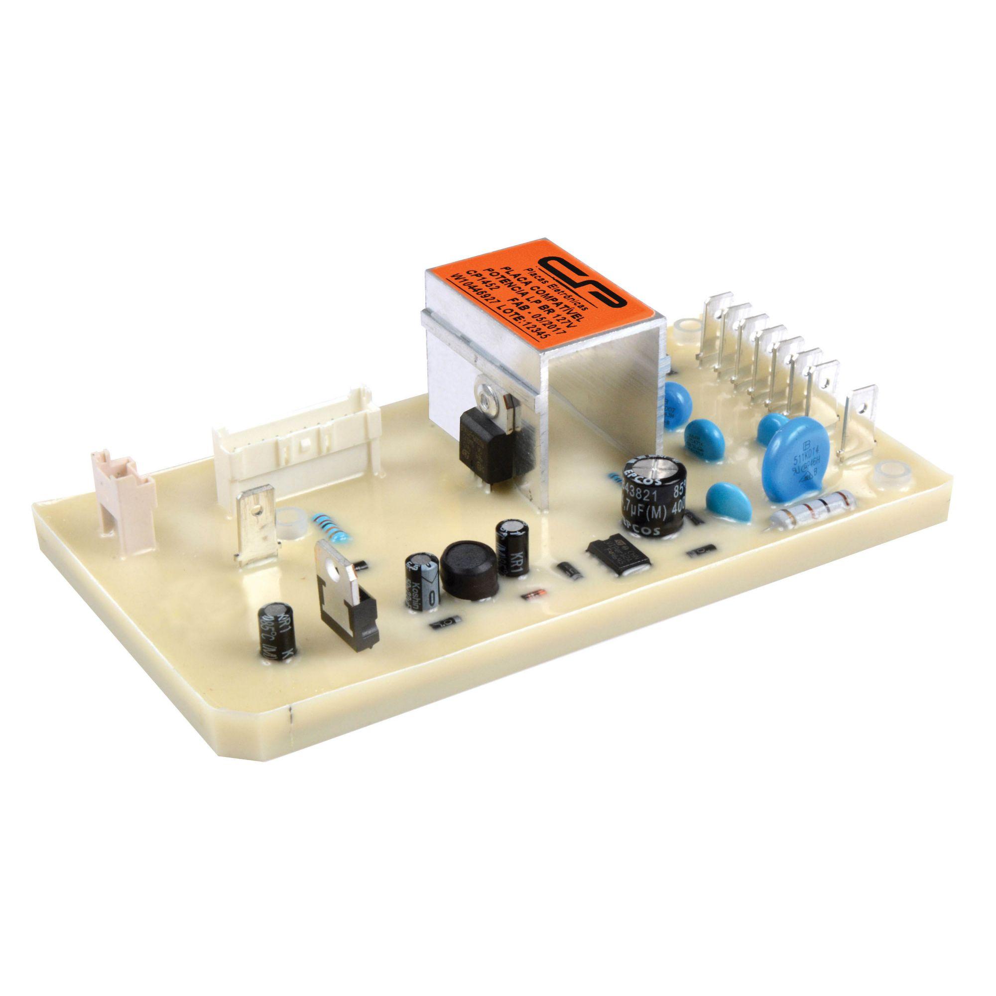 Placa Lavadora Potência Lp BR 127V (CP1452)