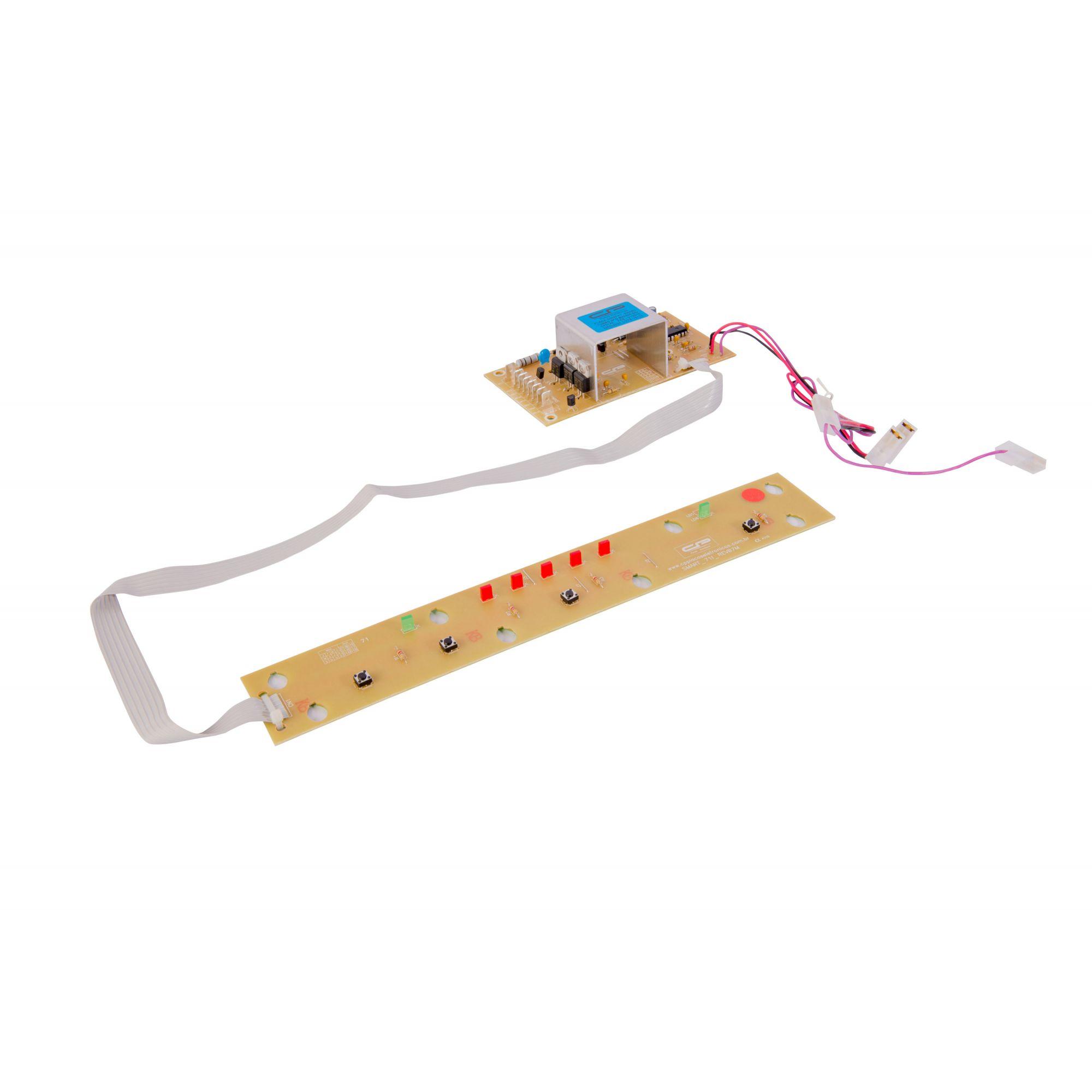Placa Eletrônica Bivolt Lavadora - Brastemp