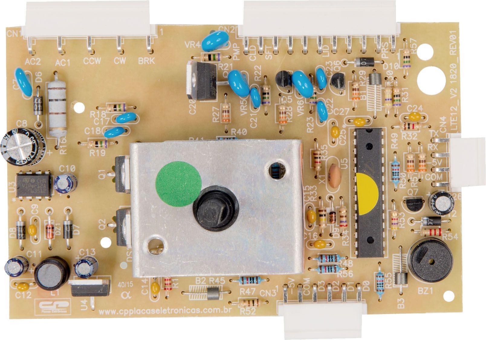 Placa Potência Lavadora LTE 12 Versão 2 Após 10/2012 (CP1438)
