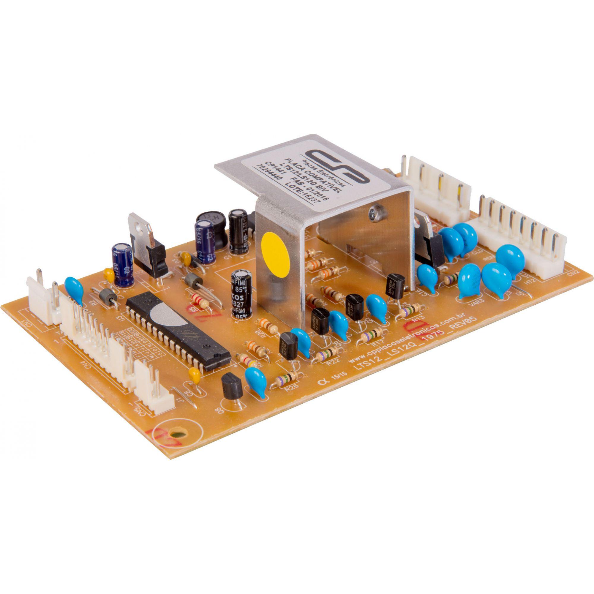 Placa Potência Lavadora Electrolux LTS12  LS12Q Bivolt (CP1441)