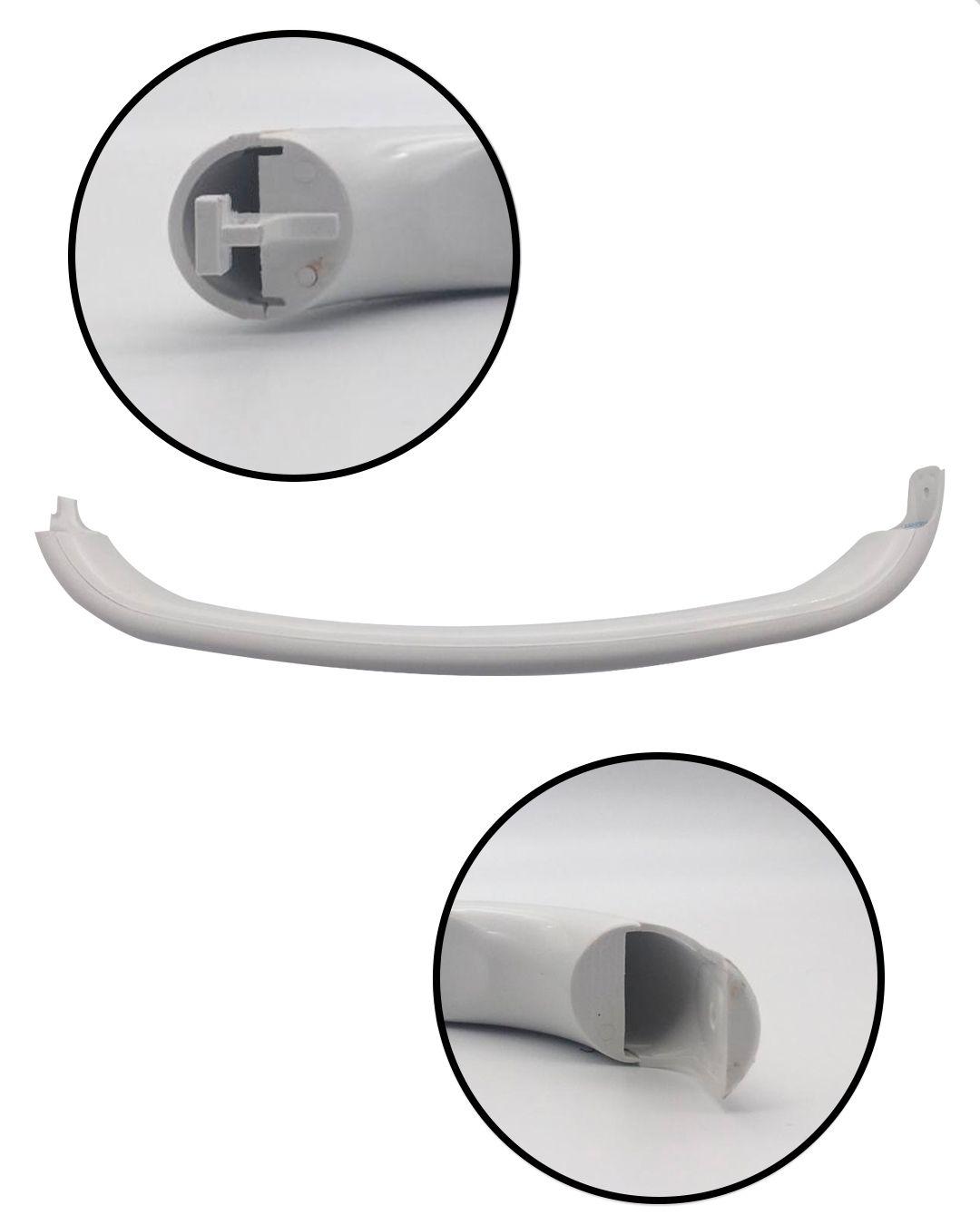 Puxador Branco Horizontal Geladeira - 2 Unidades - Bosch