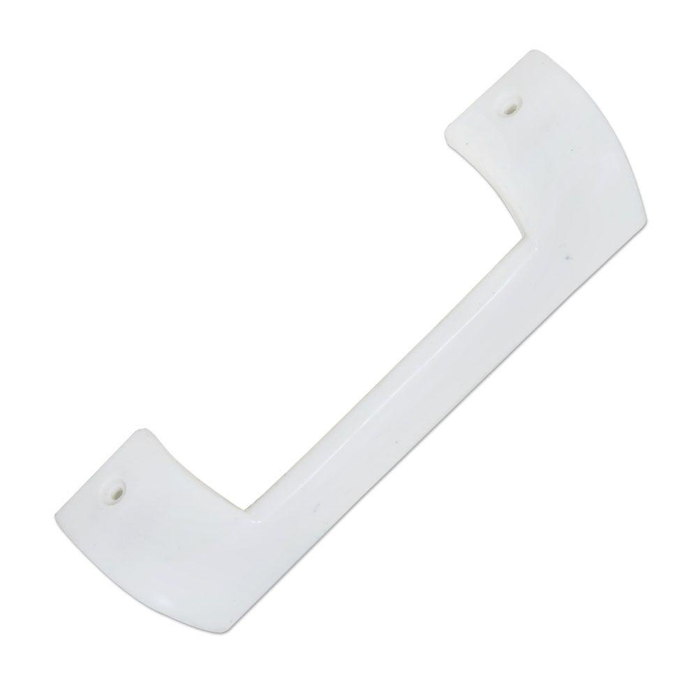 Puxador Branco Vertical Refrigerador - Continental