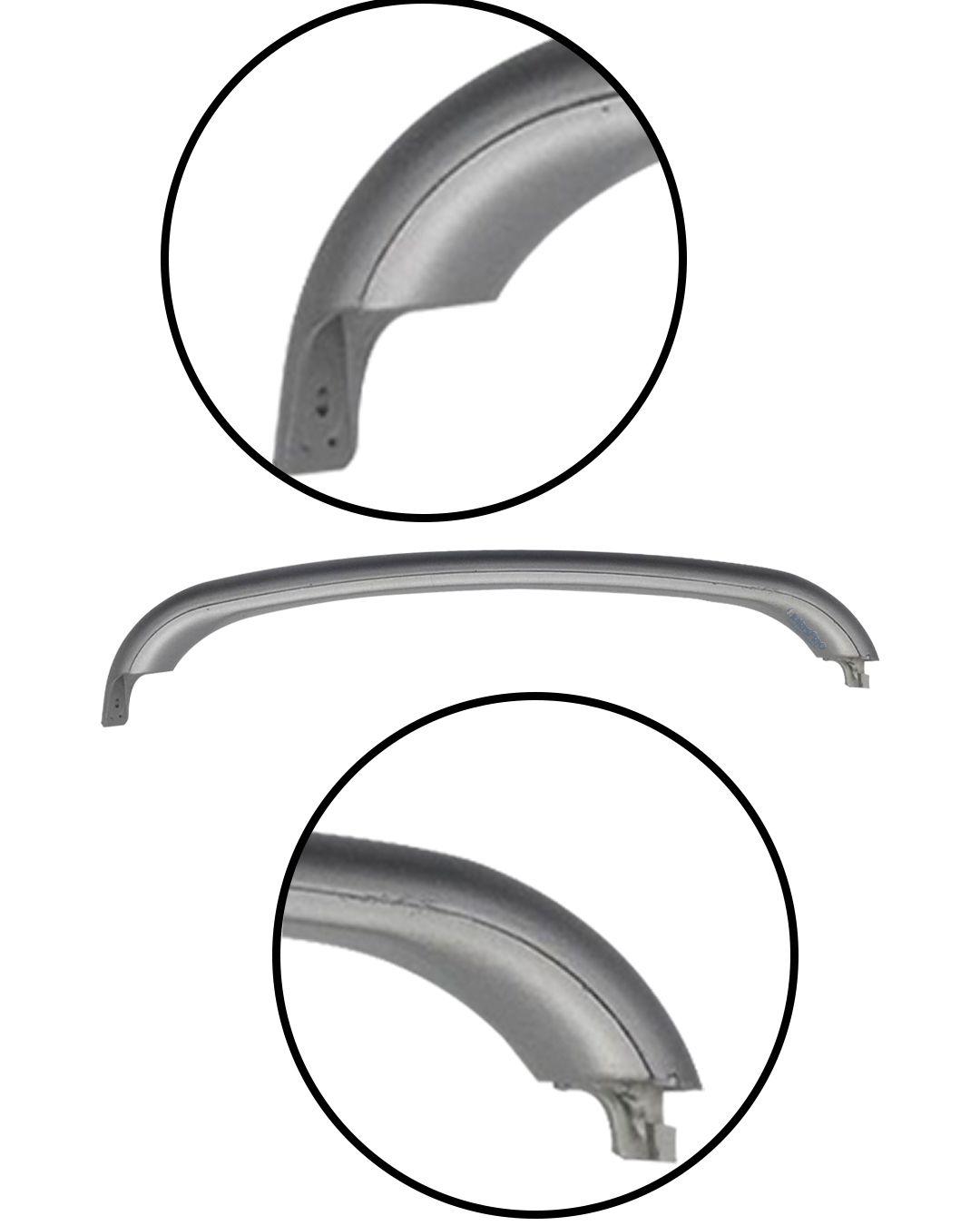 Puxador Horizontal Prata Refrigerador - Bosch Continental