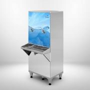Bebedouro Resfriador De Água Industrial 50 Litros Com 2 Torneiras - Frisbel