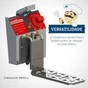 Cabeçote Elétrico para Fritadeiras de 6 ou 12 Litros a Gás Marchesoni - 5424/5427