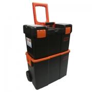 Caixa Plástica Baú De Ferramentas Com Rodas Org200 Intech Machine