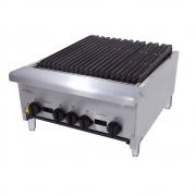 Char Broiler Chapa Lanche Grill Americana 60 Cm a Gás Inox CGG60 4 Queimadores - Venâncio