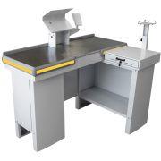 Checkout Caixa de Supermercado Metálico INNAL com Kit para Automação - 1,30 de Largura