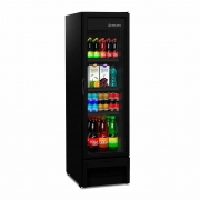 Expositor Vertical Vb28rh Refrigerador Geladeira All Black Porta Vidro - Metalfrio