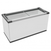 Freezer Horizontal 2 Portas Vidro 491 Litros Nextgen Supra Branco - Metalfrio