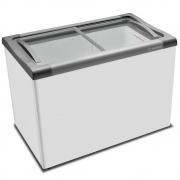 Freezer Horizontal Expositor Tampa de Vidro Nextgen Supra Branco NF30S 284 Litros - Metalfrio