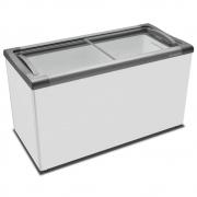 Freezer Horizontal Nextgen Supra Branco Expositor Horizontal Com Tampa de Vidro NF40S 388 Litros - Metalfrio