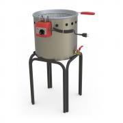 Fritadeira de Salgados Água e Óleo Elétrica Estrutura Inox Escovado 12 Litros - Progás