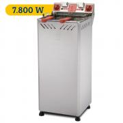 Fritadeira Elétrica Água e Óleo Gabinete Marchesoni Industrial com 7.800 W e 25 litros - FT.2.252.8G