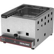 Fritadeira Industrial a Gás 3 Litros Metalcubas - FRCG 3