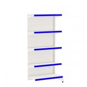 Gôndola Lateral Parede 1 Continuação e Porta Etiqueta Azul - Amapá