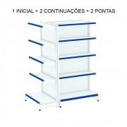 Gondolas Centro 1 inicial + 2 continuação + 2 pontas - Amapá