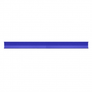Kit Com 10 Porta Etiquetas Azul Para Gondola Premium Lx De 92 Cm - Amapá