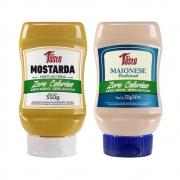 Kit Lanche Mostarda e Maionese Zero Calorias Mrs Taste