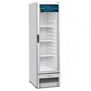 Refrigerador Expositor Geladeira Vertical Porta Vidro 324L Slim VB28R Branco R290 - Metalfrio
