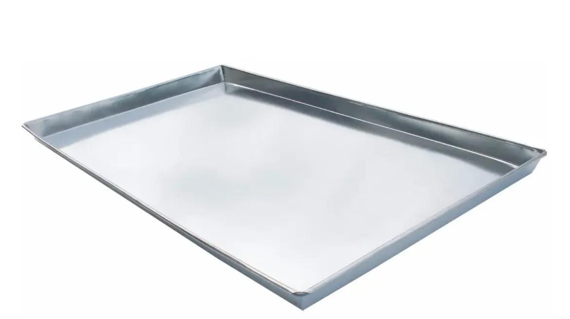 Assadeiras Forma Pão Doce Alumínio Liso 58x70 Kit 5 Unidade  - Carmel Equipamentos