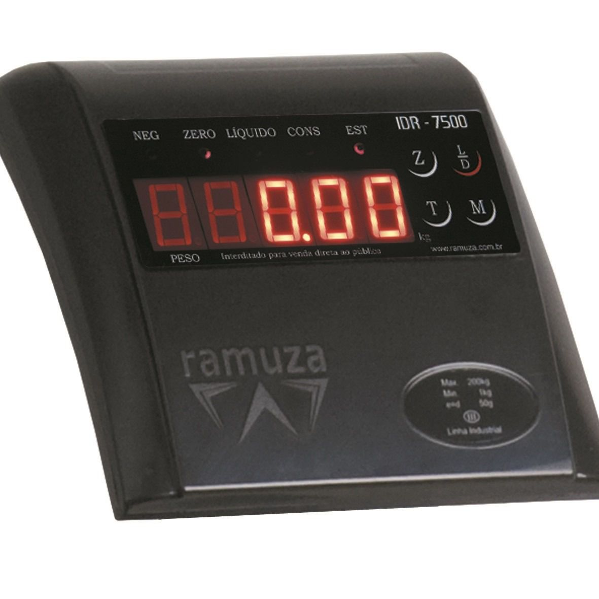 Balança Industrial Ramuza com Plataforma 150 KG - DP-150  - Carmel Equipamentos