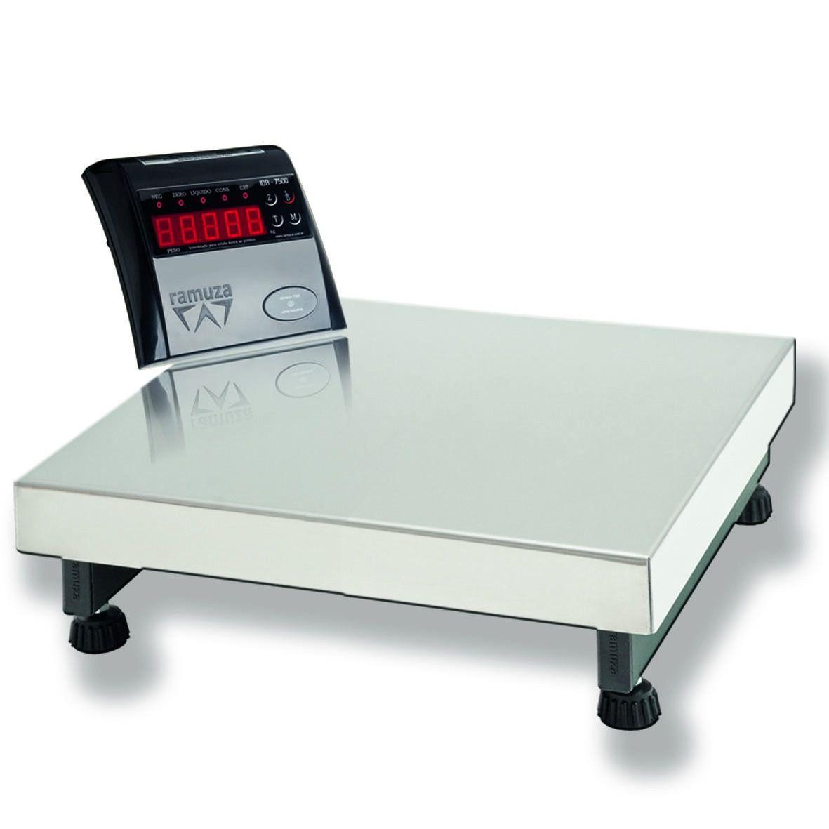Balança Industrial Ramuza com Plataforma 50 Kg - Dp-50  - Carmel Equipamentos