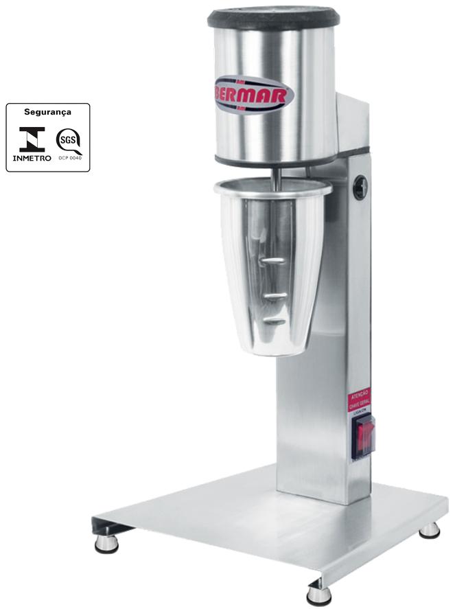 Batedor de Milk Shake em Inox Bermar Bm 71 Nr Bm 72 Nr  - Carmel Equipamentos