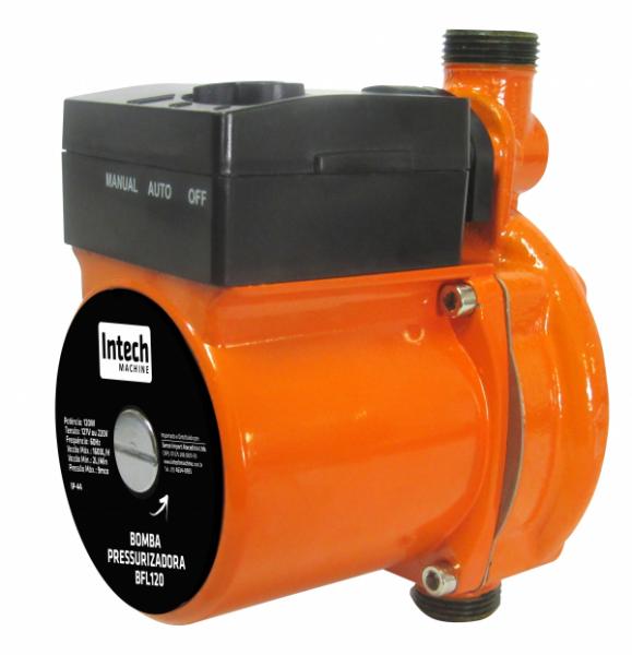 Bomba Água Pressurizadora Bfl120 Intech Machine  - Carmel Equipamentos