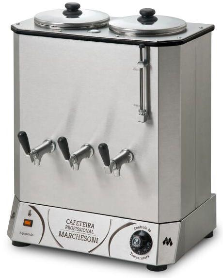 Cafeteira Industrial Marchesoni 12 Litros Linha Profissional - CF.4.621/622  - Carmel Equipamentos