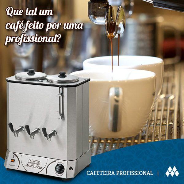 Cafeteira Industrial Marchesoni 20 Litros Linha Profissional - Cf4121/122  - Carmel Equipamentos