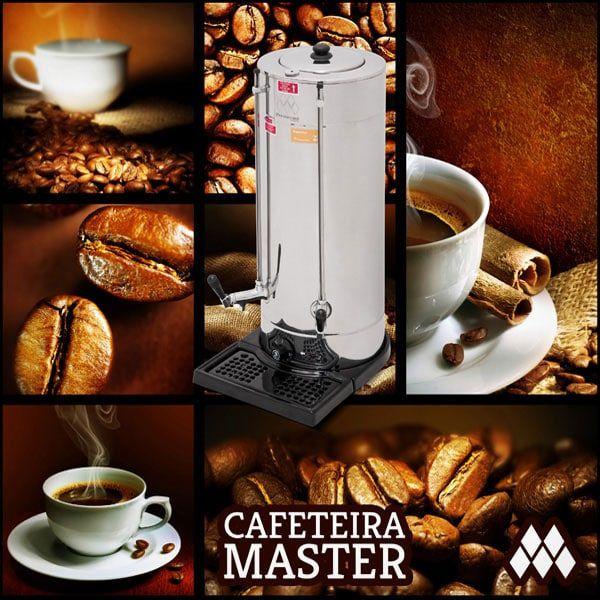Cafeteira Industrial Marchesoni 4 Litros Linha Master - CF.3.401/402  - Carmel Equipamentos