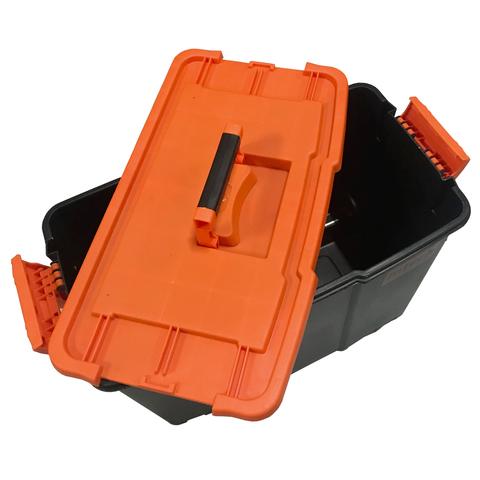 Caixa Plástica Baú De Ferramentas Com Rodas Org200 Intech Machine  - Carmel Equipamentos
