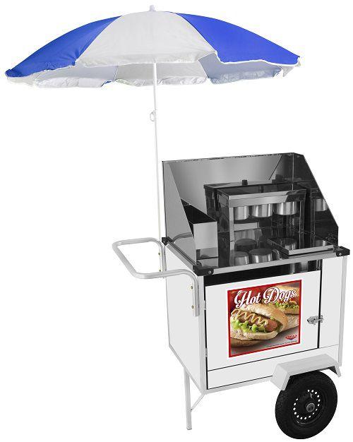 Carrinho de Hot Dog Cefaz BS08P/GS  - Carmel Equipamentos