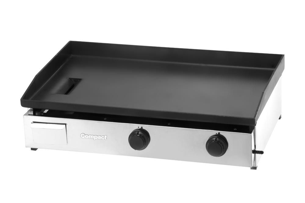 Chapa Bifeteira a Gás 80X50 Slim COMPACT - CBS80  - Carmel Equipamentos