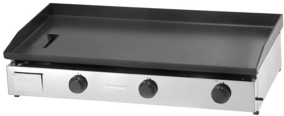 Chapa Bifeteira a Gás 100X50 Slim COMPACT - CBS100  - Carmel Equipamentos