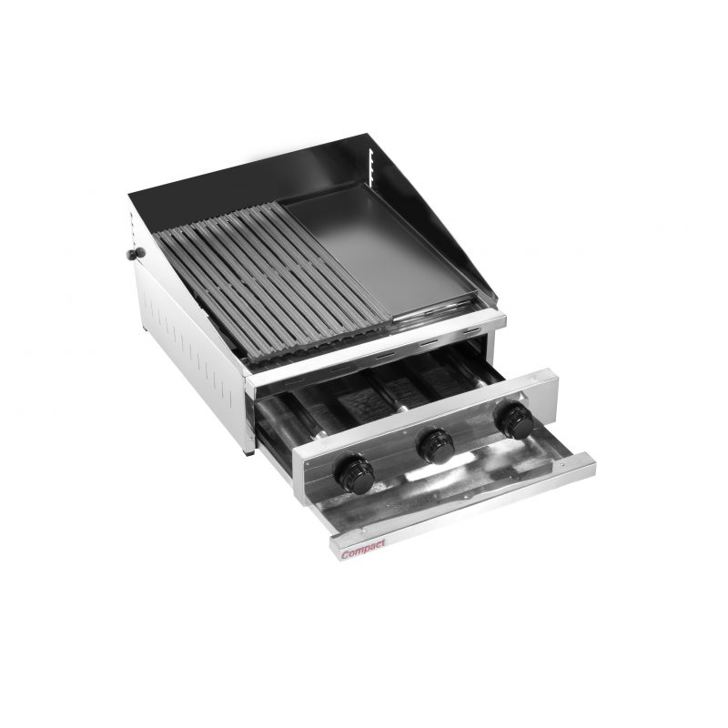 Char Broiler Picanheira a Gás 63X63 Compact - Ch600FL  - Carmel Equipamentos