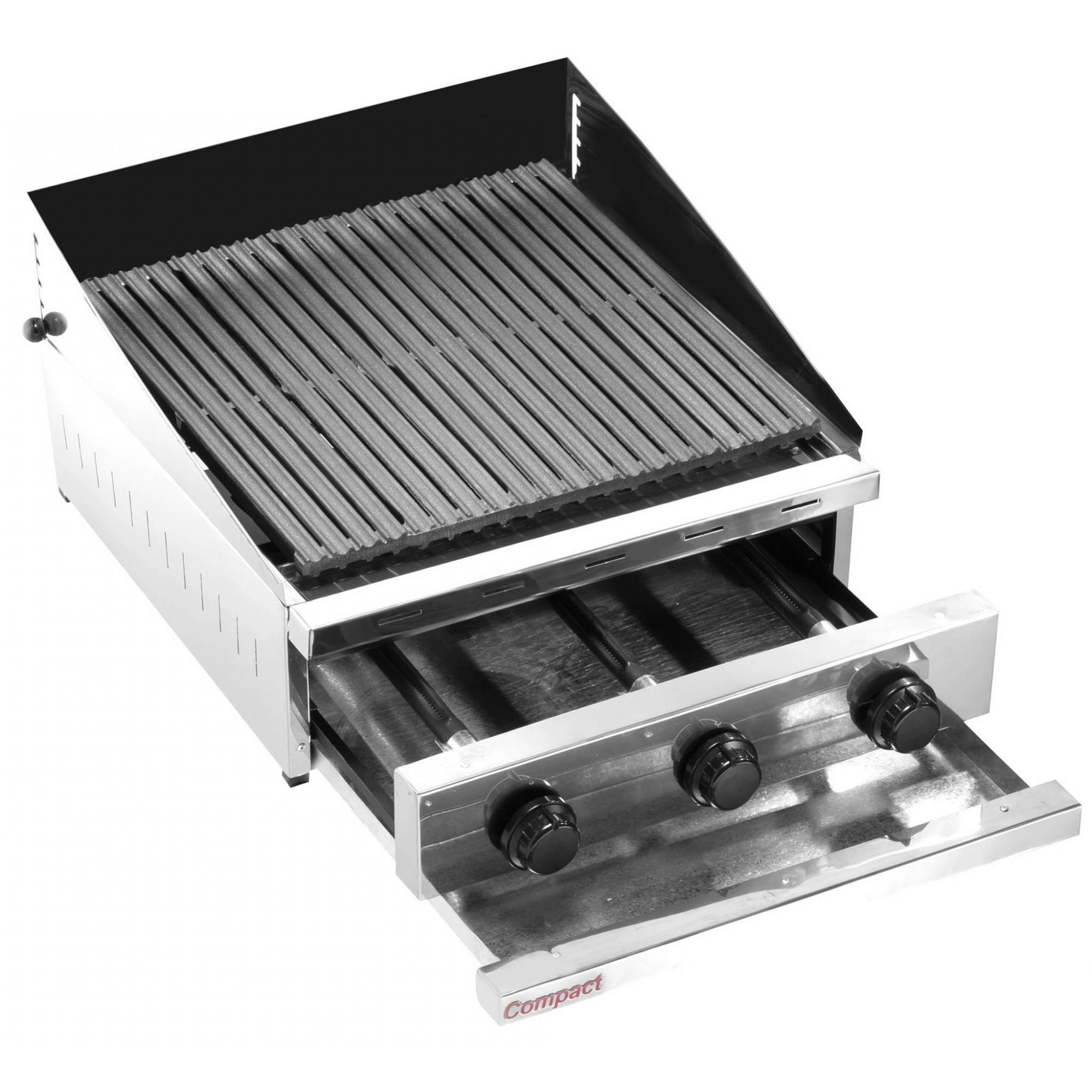 Char Broiler Picanheira a Gás 63X63 Compact - CH600F  - Carmel Equipamentos
