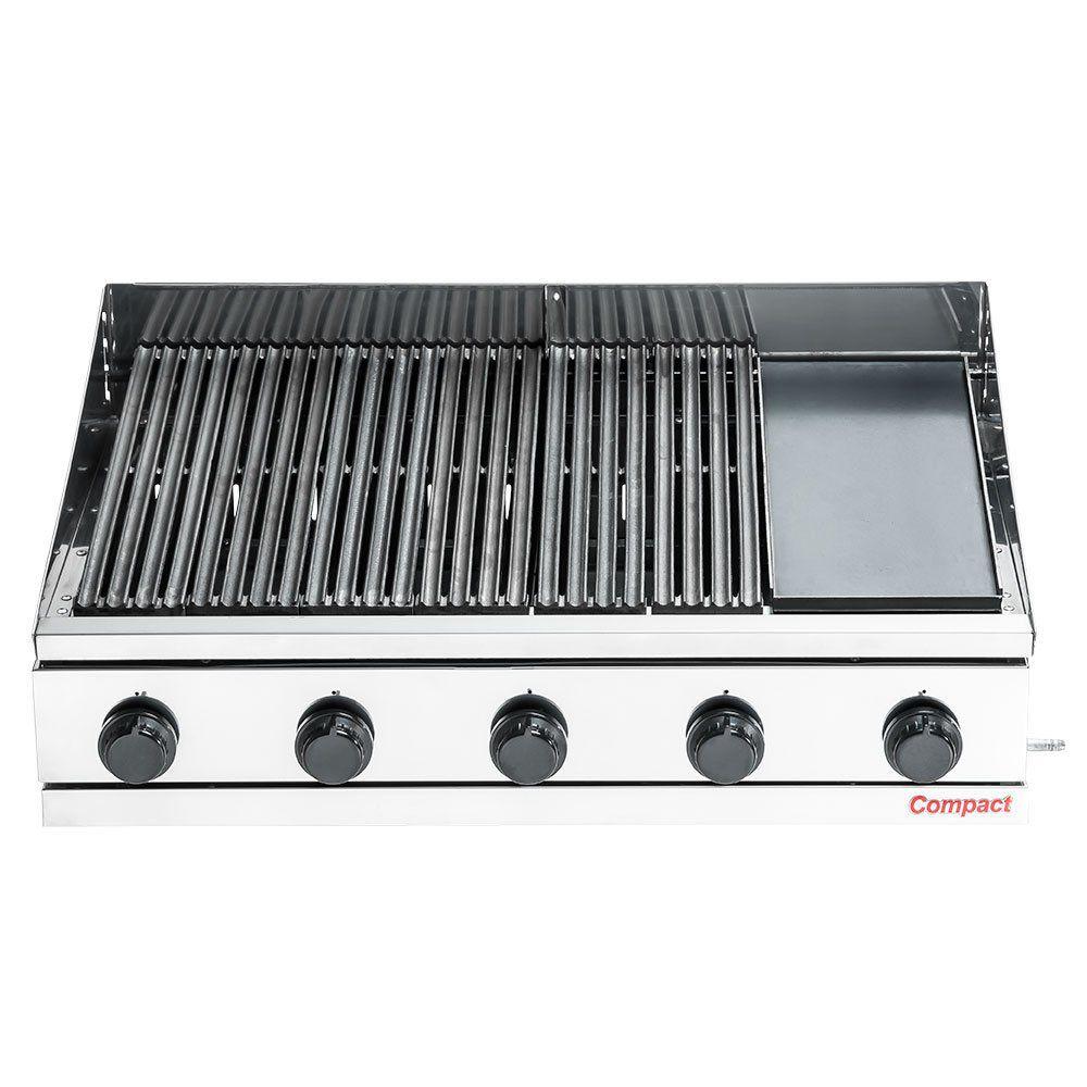 Char Broiler Picanheira c/ Chapa a Gás 95X63 Compact - CH900-FL  - Carmel Equipamentos