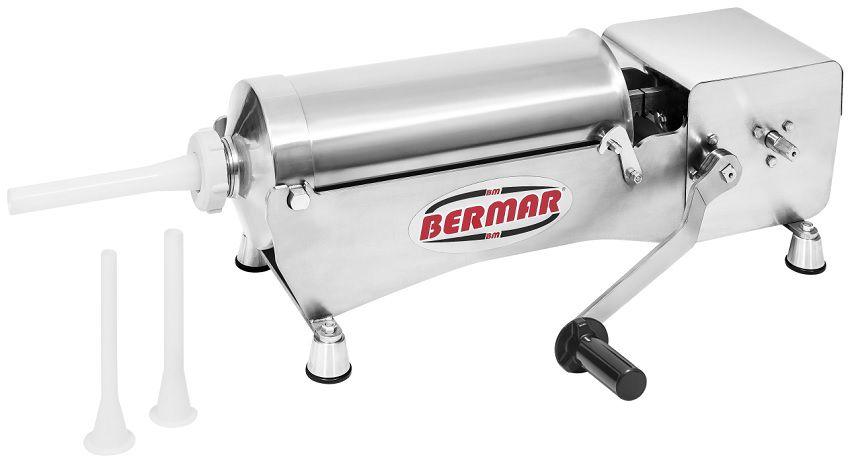 Ensacadeira de Linguiça Salame Kafta em Aço Inox 8 Litros Bermar - BM117 NR  - Carmel Equipamentos