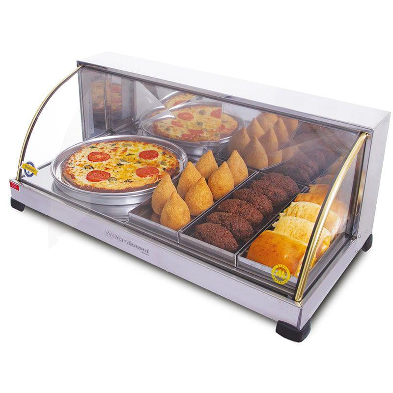 Estufa p/ Salgados Marchesoni 3 Bandejas e 1 Bandeja de Pizza Linha Suprema - EF.3.071-072  - Carmel Equipamentos