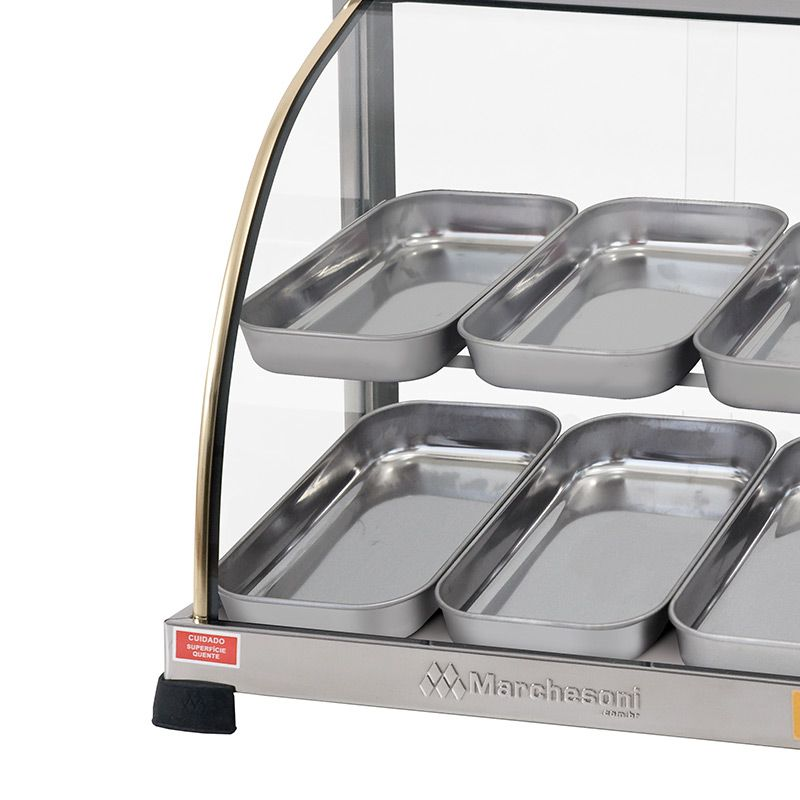 Estufa Para Salgados Dupla Marchesoni 14 Bandejas Linha Ouro - EF2241/242  - Carmel Equipamentos