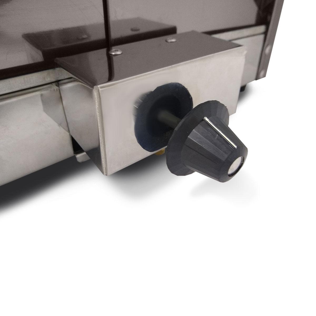 Estufa Para Salgados Dupla 6 Bandejas Aquecedor de Salgados Vidro Curvo Gás - Supritecs Equipamentos  - Carmel Equipamentos