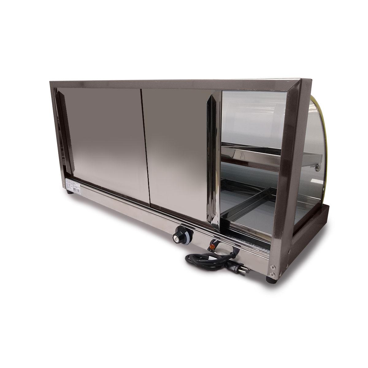 Estufa Vidro Curvo Dupla 8 Bandejas Em Linha Luxo - Supritecs  - Carmel Equipamentos